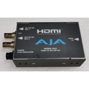 [B-Stock] AJA HA5 Converter