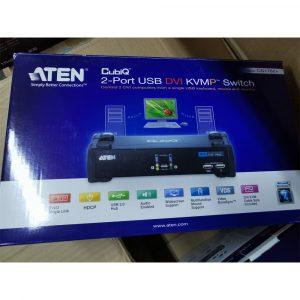 [Stock Clearance] ATEN 2-Port USB2.0 DVI KVMP Switch