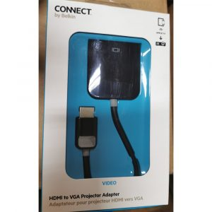 [Stock Clearance] Belkin HDMI TO VGA PROJECTOR ADAPTER