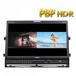 Postium 18.5″ Picture-by-Picture Monitor with 3G-SDI