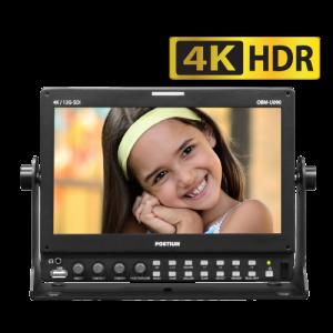 Postium 9″ 4K 12G-SDI Quad Link LCD Monitor